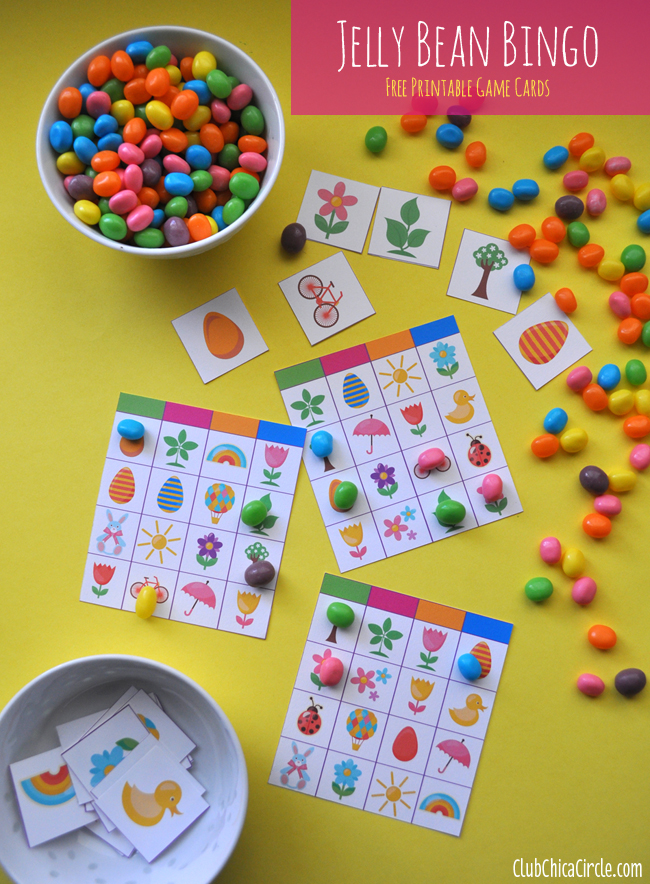 Jelly Bean Party Fun Family Crafts