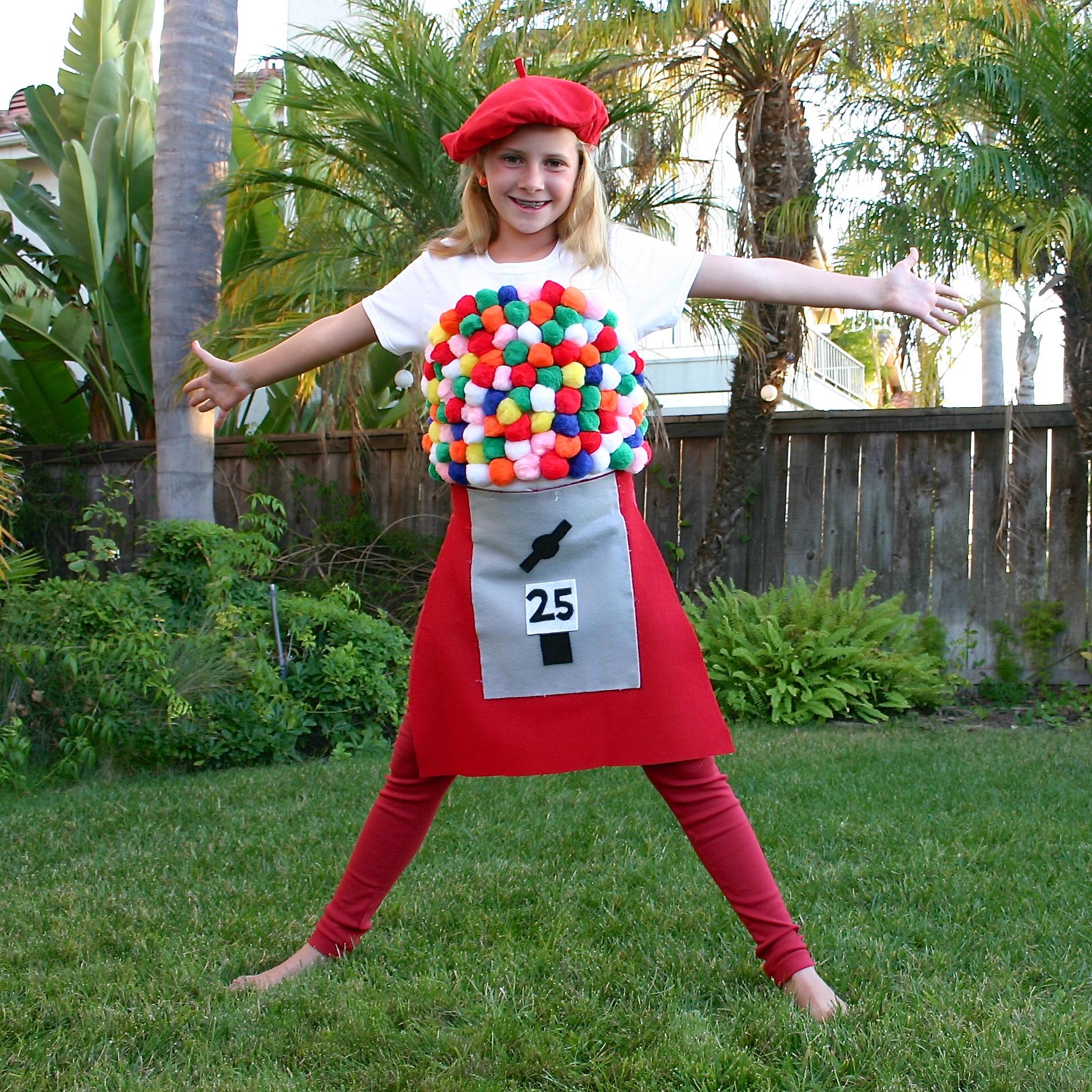 Bubblegum Machine Halloween Costume Fun Family Crafts