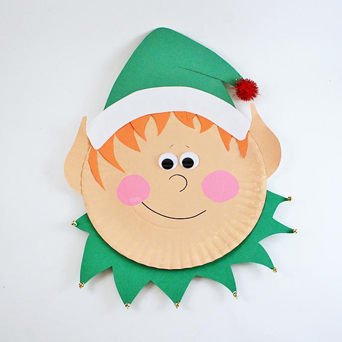 Paper Plate Elf Fun Family Crafts