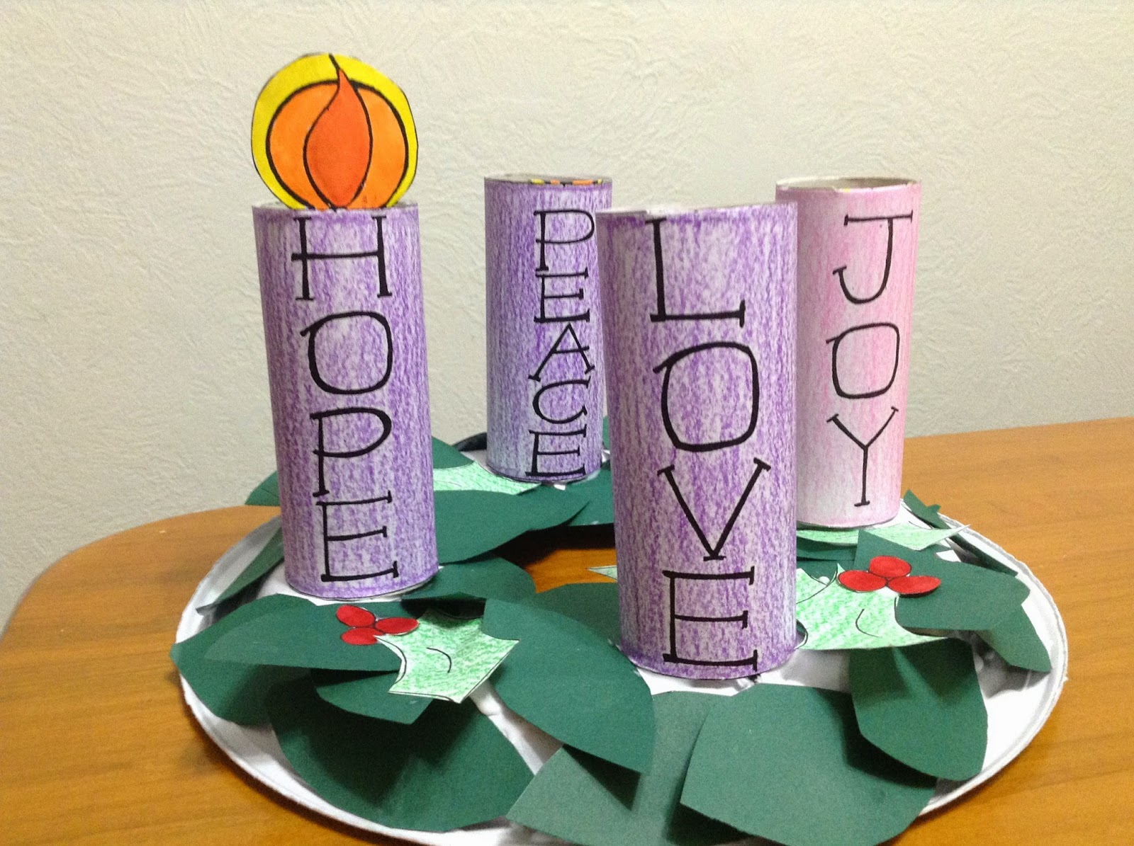 Printable Advent Wreath