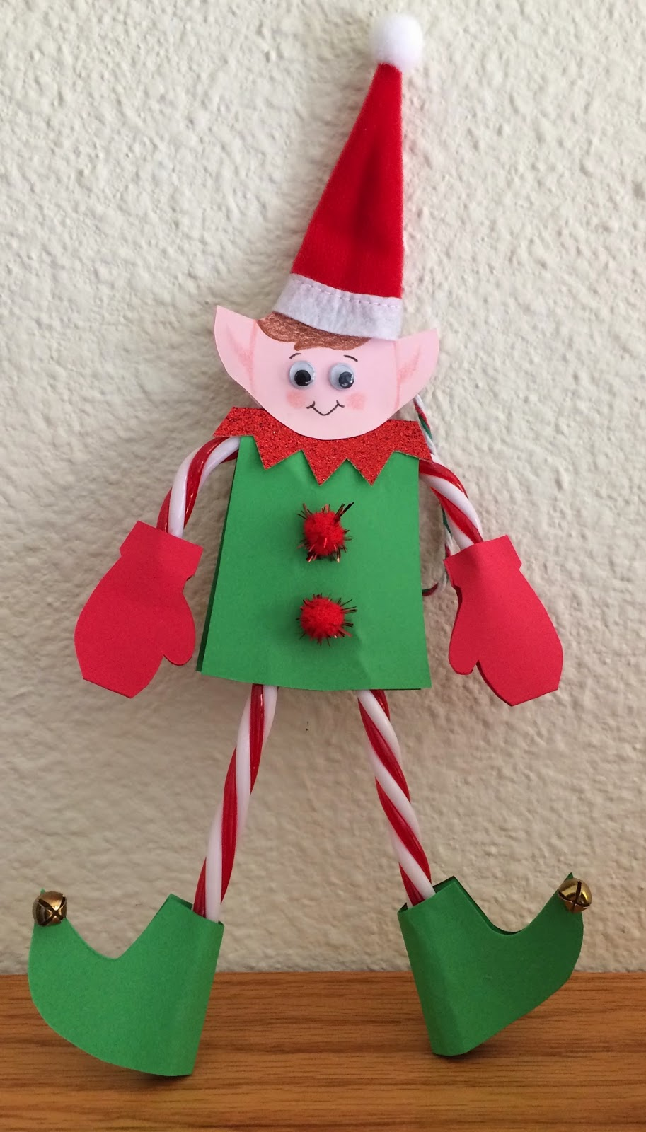 Candy Cane Elf Ornament Fun Family Crafts