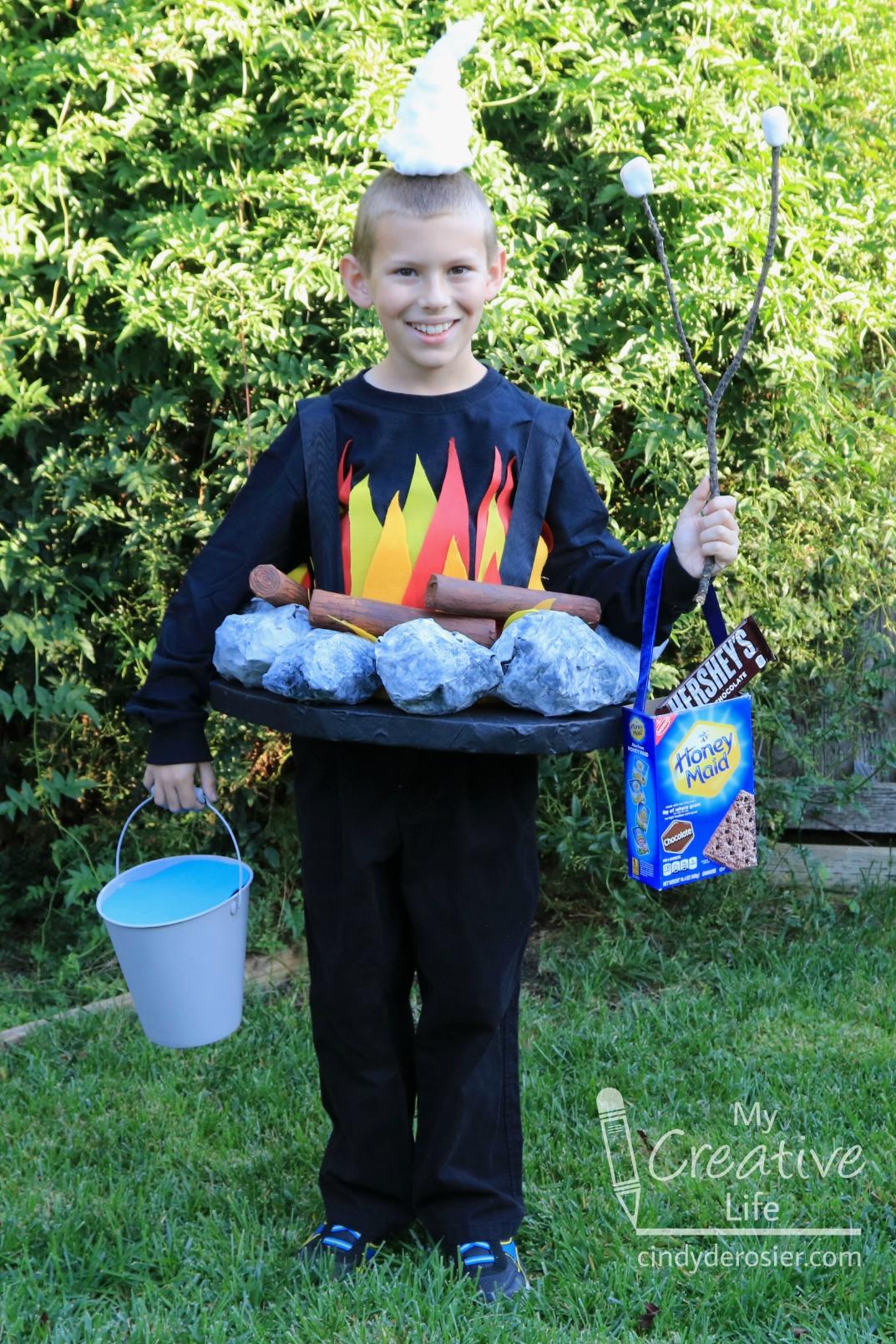 Campfire Costume Fun Family Crafts