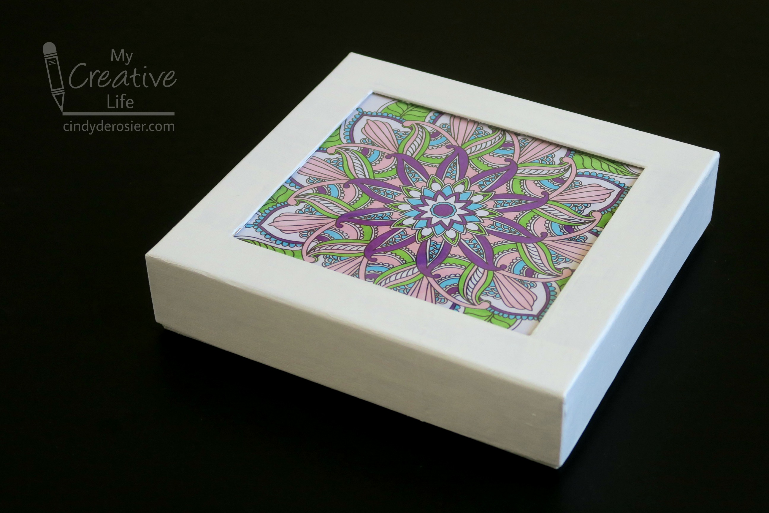 Coloring Page Gift Box Fun Family Crafts