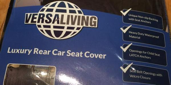 VersaLiving Luxury Rear Car Seat Cover Review