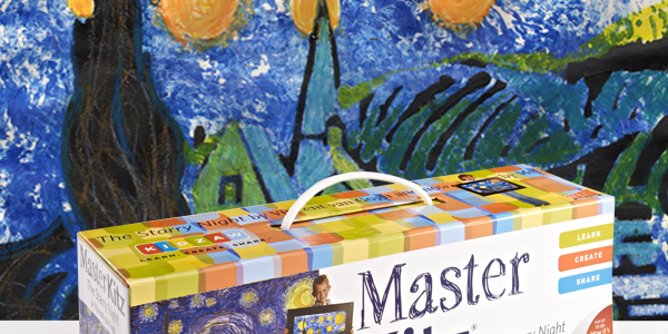 """The Starry Night"" Painting Kit by Master Kitz – REVIEW"