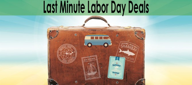 5 Websites With Last Minute Labor Day Deals