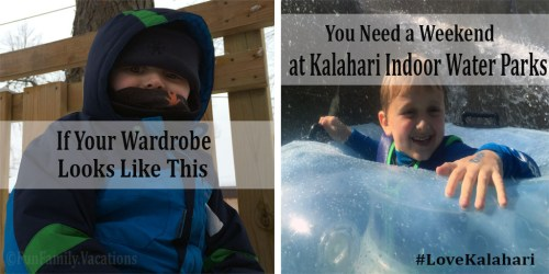 Winter Weekend Getaway at Kalahari Indoor Waterpark