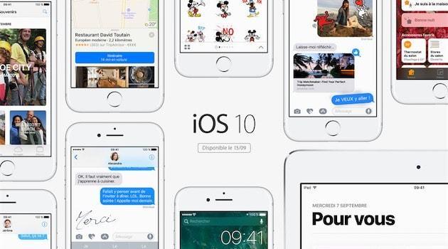 Les nouveautés de iOS 10