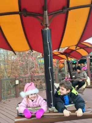 Busch Gardens Christmas Town Rides