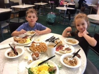 SpringHill Suites Williamsburg Family Hotel Buffet Breakfast