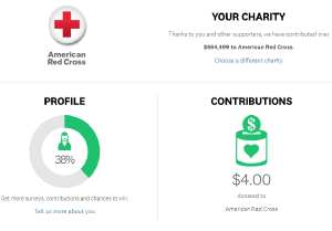 Take surveys and contribute to charity with SurveyMonkey Contribute