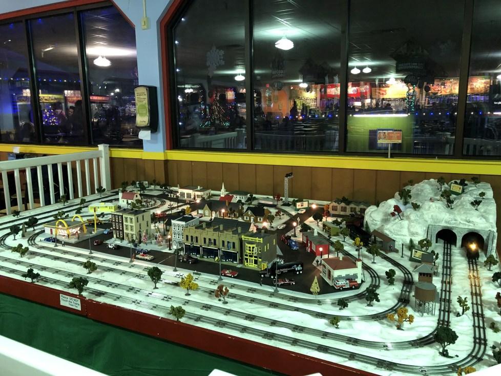 Miniature Train Display at Dutch Winter Wonderland