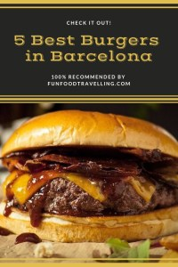best burgers in barcelona
