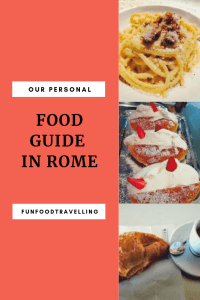 food guide rome