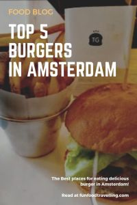 top burgers in Amsterdam