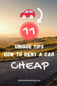 rent a car cheap