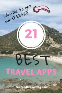 get the list of 21 travel apps to help you to organize your trip