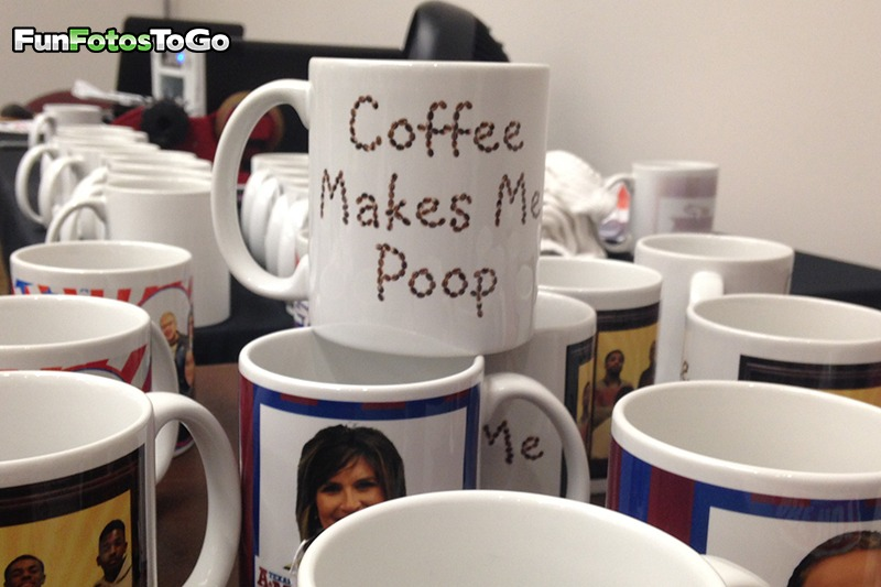 Humorous says on mugs