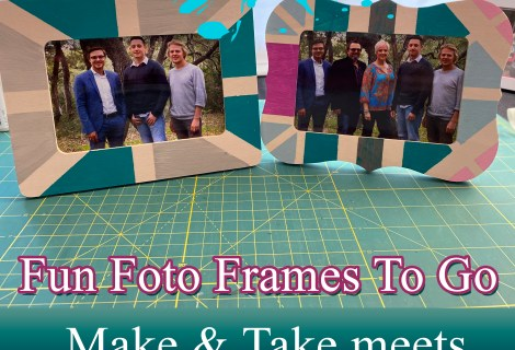Make and Take painted frames