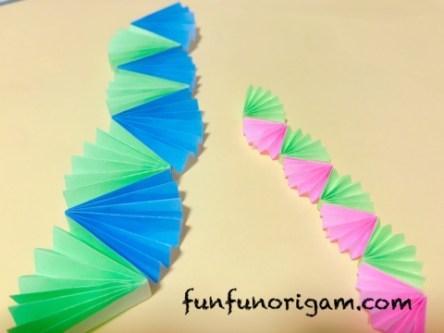 七夕飾り作り方 折り紙