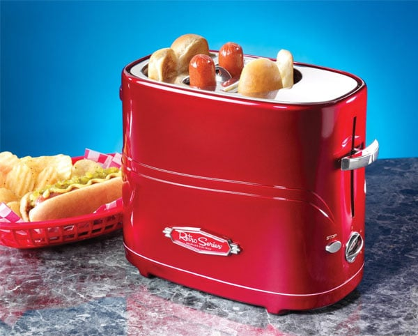 Nostalgia Hot Dog Cooker – Retro Toaster Oven
