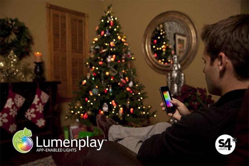 Lumenplay bluetooth LED Christmas lights