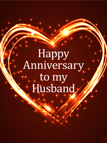 Happy Anniversary to Husband