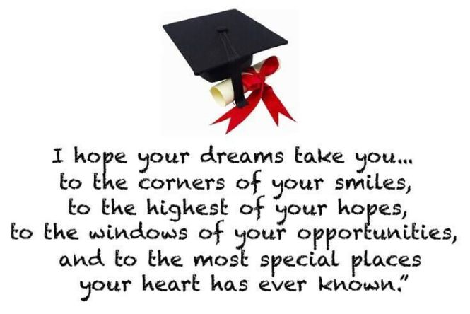 Graduation Wishes Quotes Cards