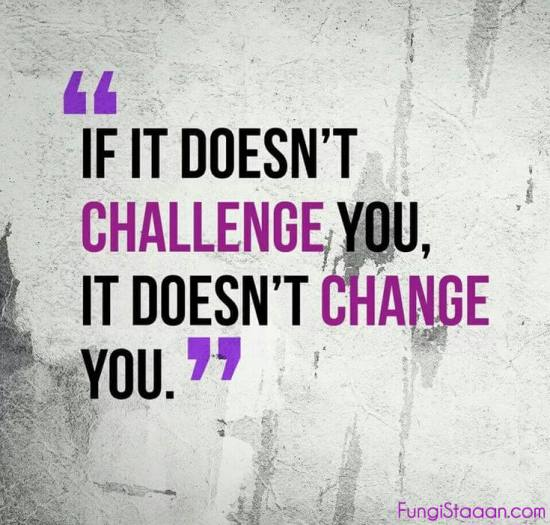 Famous Challenge Quotes