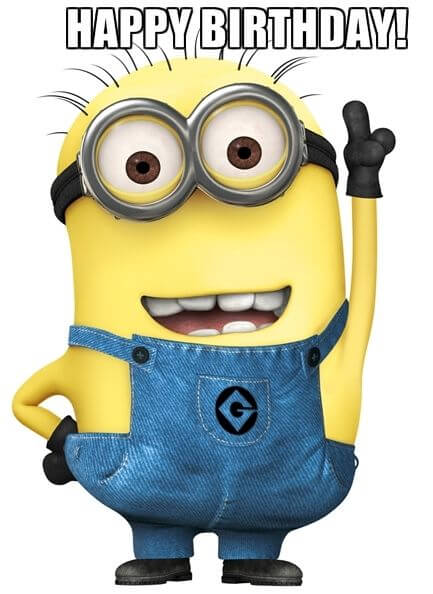 Minion Birthday Images