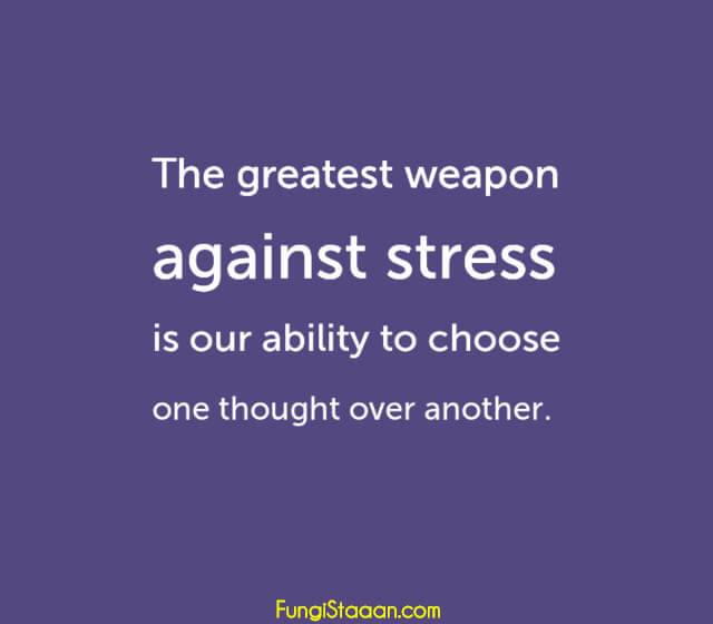 Stress Management Quotes