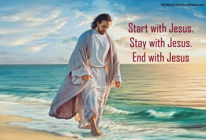 Walking with Jesus Images