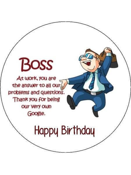 TOP Happy Birthday Wishes Quotes Images for Boss - FungiStaaan