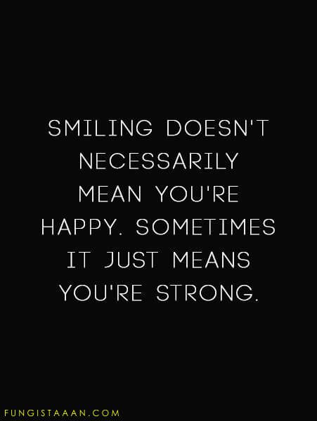 Fake Smile Quotes