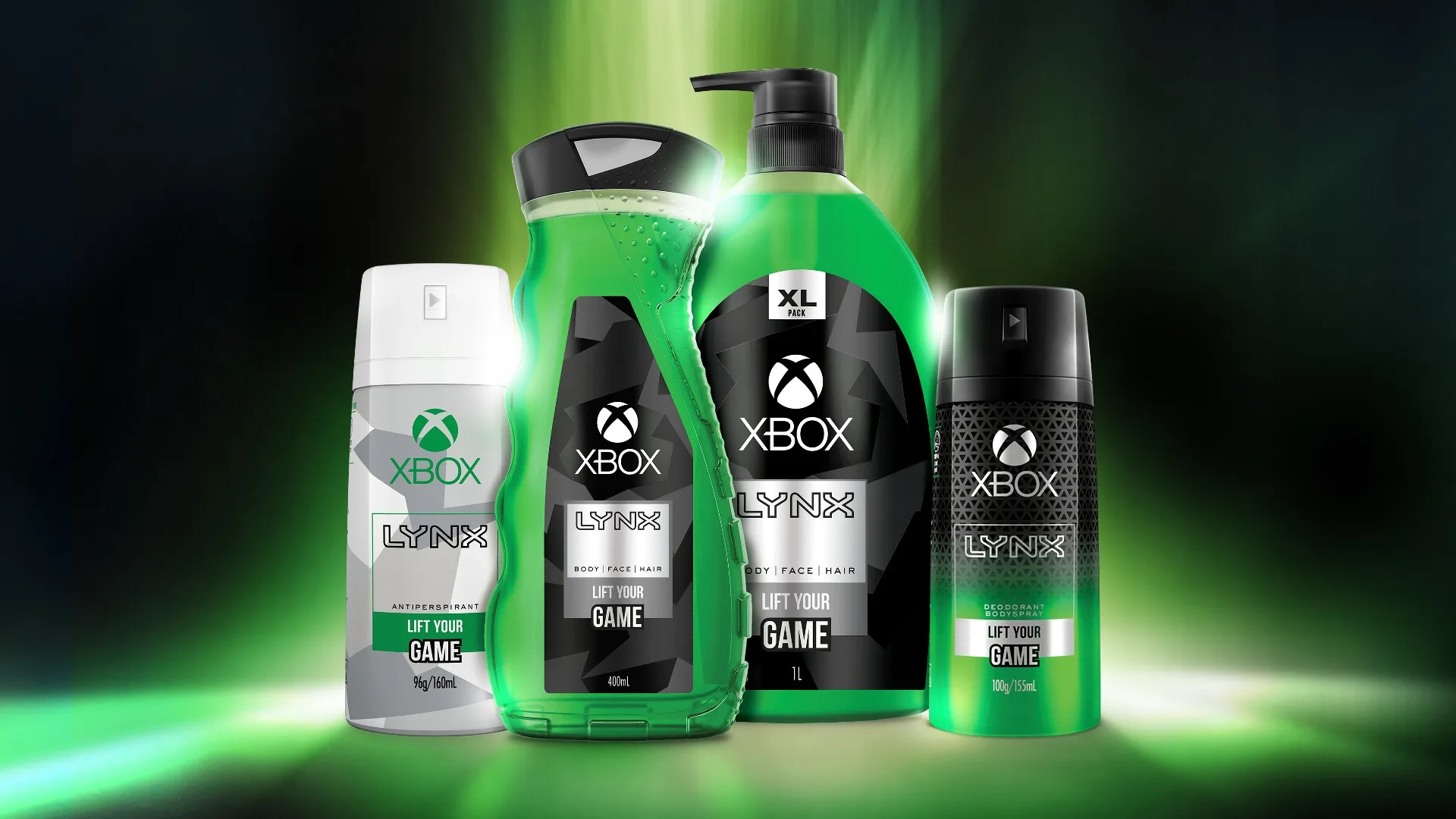 Xbox body care products & deodorant - funglr Games