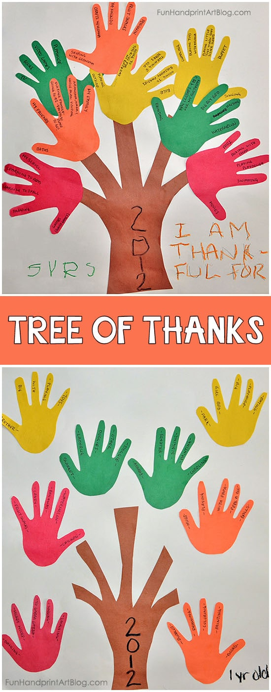 Connections and conversation for your health bienvenidos learn how to use mayo clinic connect community guidelines help center request an appointment crafting with the kids can be so fun. Thankful Handprint Trees Thanksgiving Gratitude Craft For Kids
