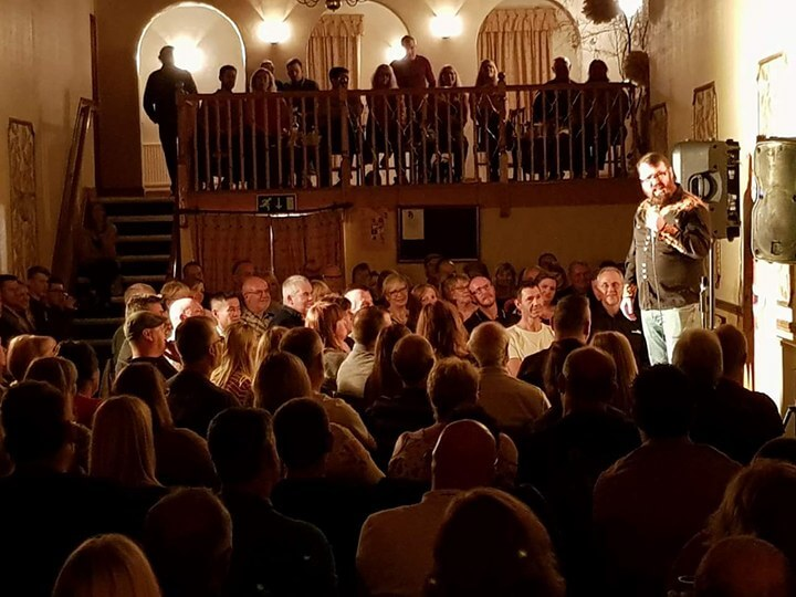 Audience at Ashby Comedy Club