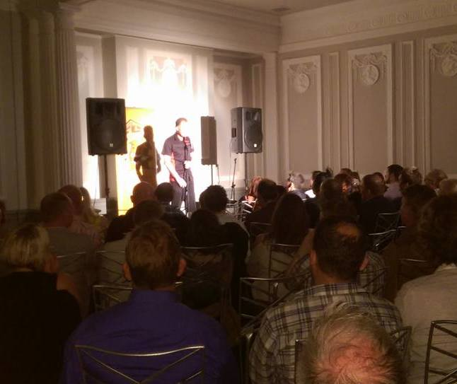 Derby Comedy Club Crowd at The Old Bell Hotel