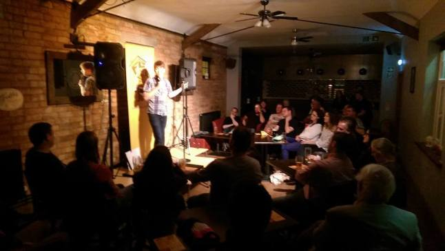 Loughborough Comedy Club Crowd at Swan in the Rushes