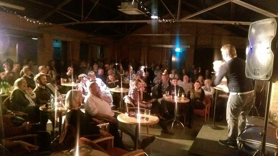 Nottingham Comedy Club at Bartons - Tom Binns