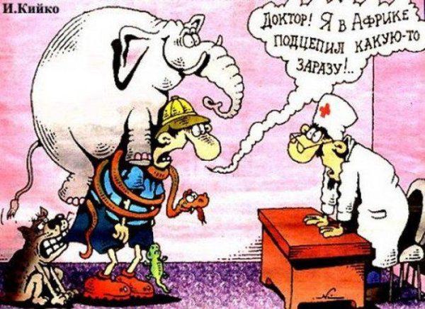 Смешные карикатуры про медицину (60 картинок)