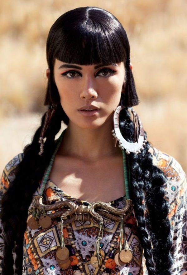 Красивые монгольские девушки (50 фото)