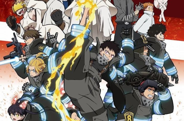 Fire Force Season 2 is listed with 24 Episodes