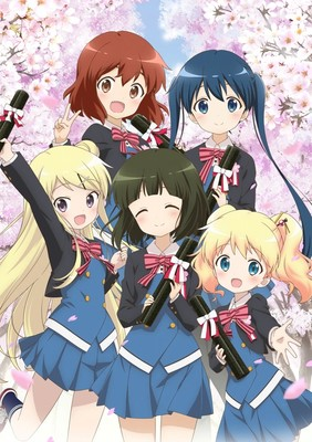 Kin-iro Mosaic Anime Film Reveals More Staff, August 20 Opening in Ad