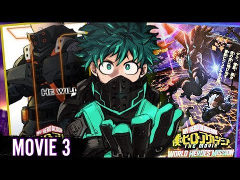 My Hero Academia Movie 3 Title + Release Date ANNOUNCED!