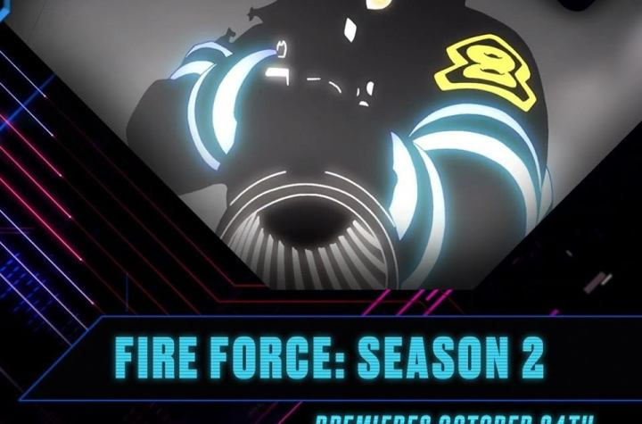 """Toonami Set to Debut """"Fire Force"""" Season 2 on October 24"""