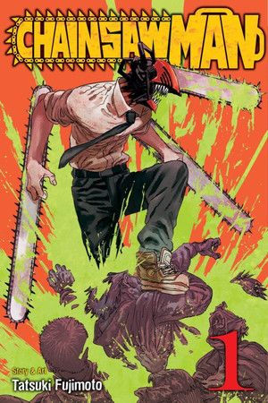 Chainsaw Man Ranks #1 on U.S. Monthly Bookscan March List