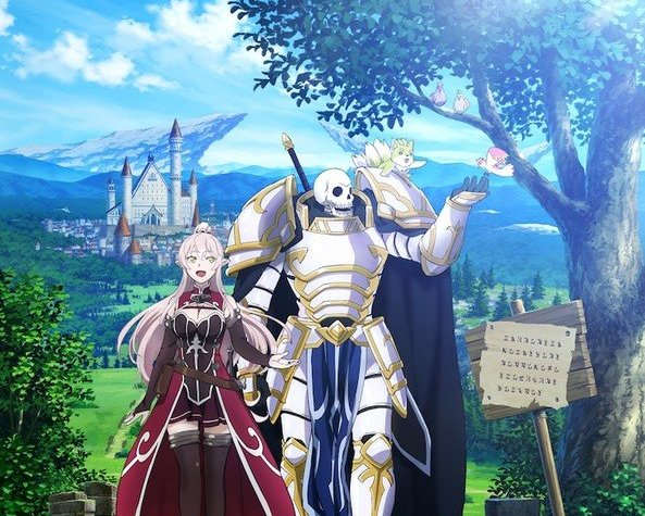 Skeleton Knight in Another World Light Novels Get TV Anime