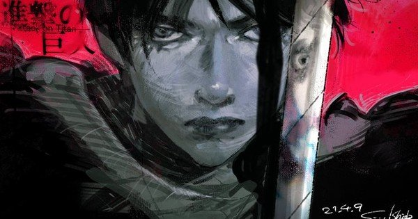 Tokyo Ghoul, Rent-A-Girlfriend Creators Draw Attack on Titan Fanart to Celebrate Final Chapter