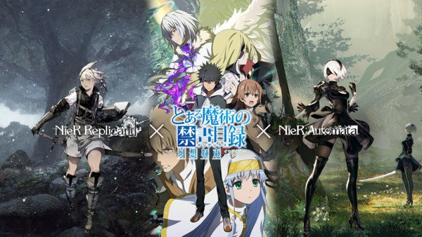 A Certain Magical Index Smartphone Game Announces Collaboration With NieR Series
